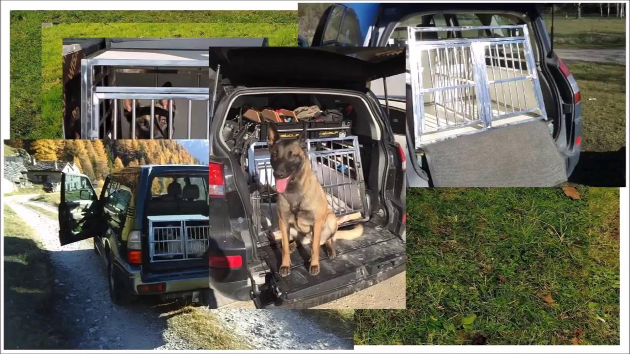 caisses cages de transport double pour chien. Black Bedroom Furniture Sets. Home Design Ideas