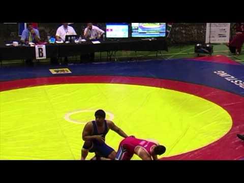 2013 Commonwealth Championships: 96 kg Final Justin Van Zyl (RSA) vs. Satyvart Kadyan (IND)