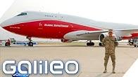 Das größte Löschflugzeug der Welt | Galileo | ProSieben