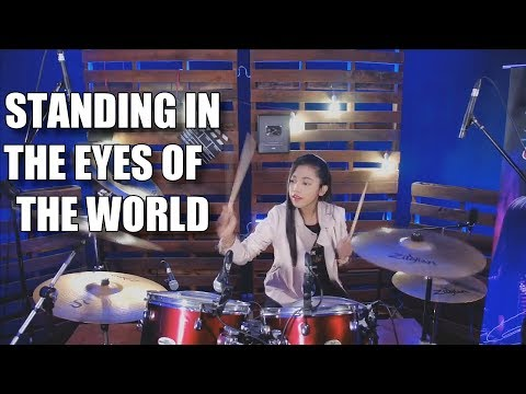 Ella - Standing in the eyes of the World Drum Cover Nur Amira Syahira