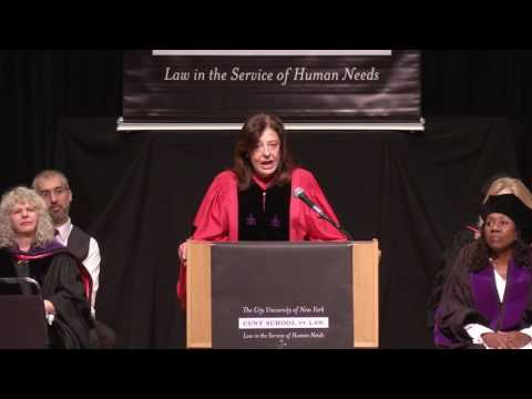 CUNY School of Law Commencement 2017
