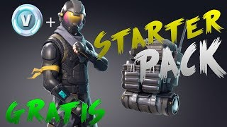 HOW TO HAVE THE NEW LEGAL STARTING PACK IN FORTNITE! SKIN EPICA AND PAVOS FREE!! NO BANEOS