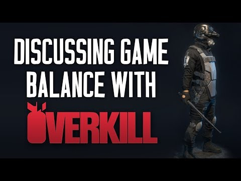 Discussing the Difficulty Rebalance with OVERKILL! [PAYDAY 2]