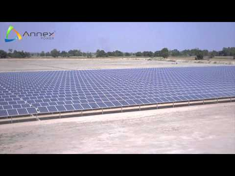 Annex Power - Construction of a 10.5 MWp Solar - Power Plant in Thailand