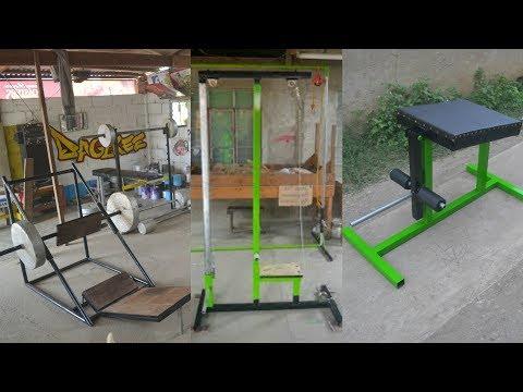 Homemade Gym Equipment - AWESOME Gym Ideas!
