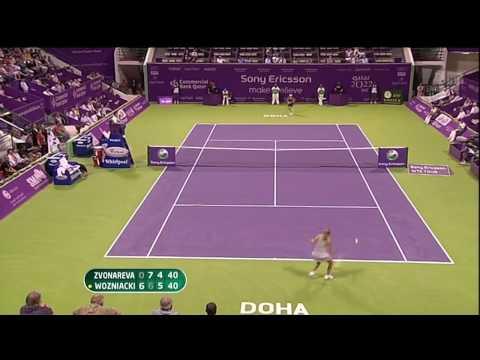 2009 Doha Wozniacki Ow