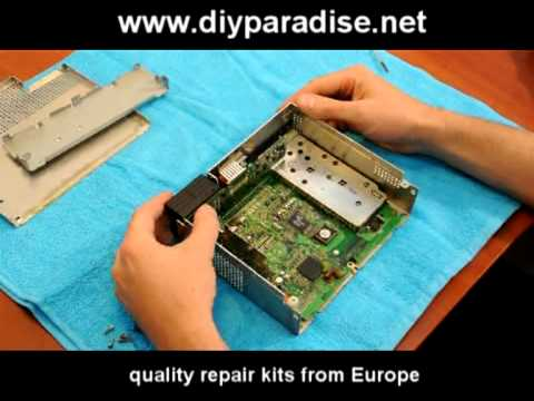 BM54 Becker radio repair with repair KIT - BMW E38 E39 X5 E46 Rover ...