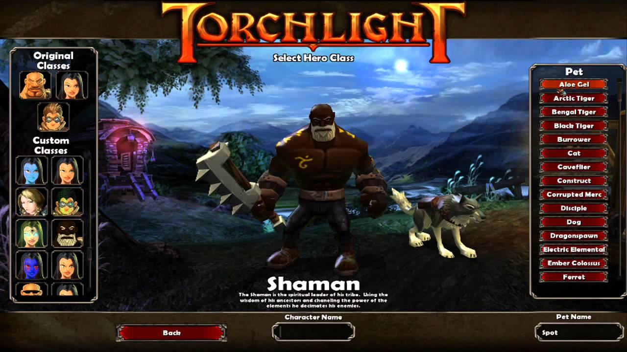 Скачать мод torchlight