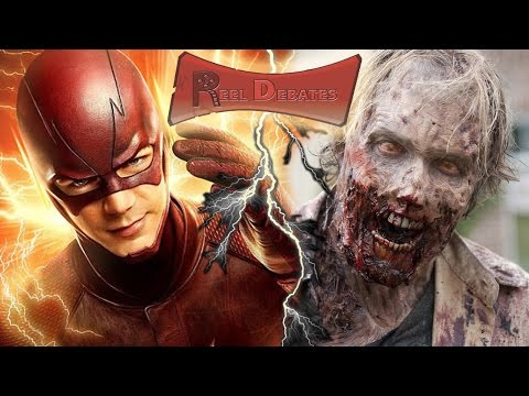 The Flash vs. The Walking Dead! - Reel Debates Ep. 7