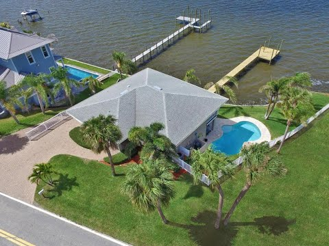 Waterfront homes for sale merritt island