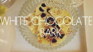 White Chocolate Bark Recipe