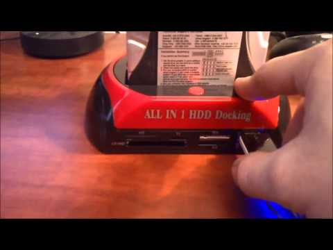 All-in-1 Dual HDD Docking Station - unpacking a shorter sample
