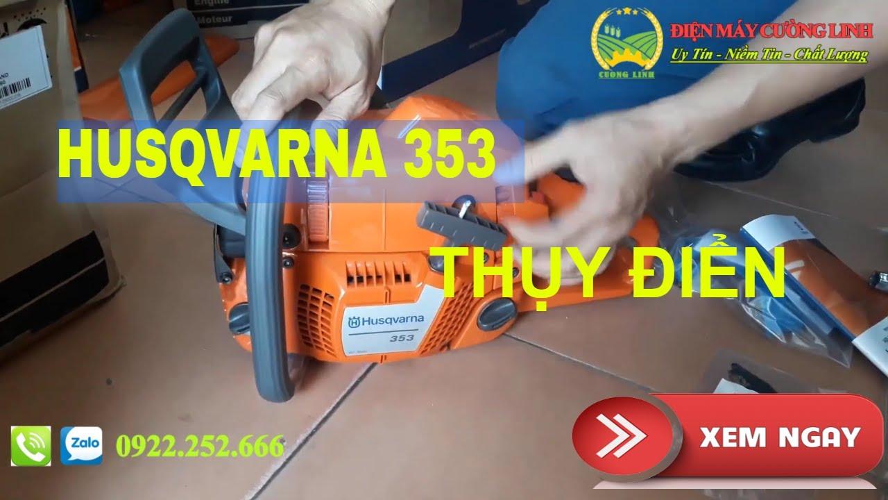 Máy Cưa Xích Thụy Điển Husqvarna 353 Chính Hãng, Giá Rẻ