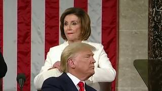 Speaker Nancy Pelosi at the State of The Union Address