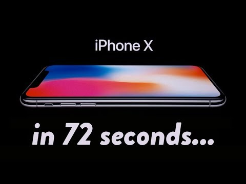 Download Youtube: iPhone X Event: Everything you need to know in 72 seconds...