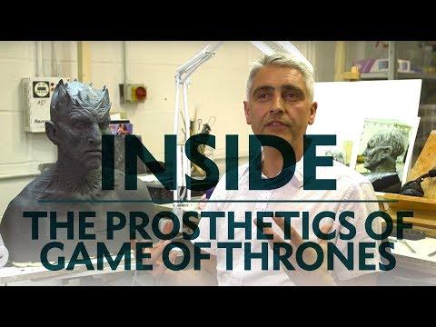 Inside the Game Of Thrones Prosthetics Studio ❄️👑   BAFTA Guru