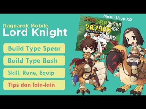 Lord Knight Type Bash Dan Spear - Nagan / Halberd - Ragnarok Mobile Eternal Love