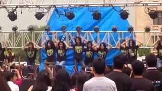 Galgotias Dance Club main stage performance | G-Quasar 2015