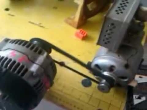 Prueba Motor Alternador Generador Hidrogeno Youtube