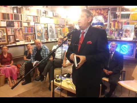 Libraria St O Iosif Brasov 2013- lansare Poarta lirica- vorbeste George Calin