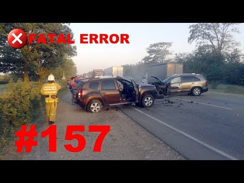 🚘🇷🇺[ONLY NEW] Russian Car Crash Compilation (23 September 2018) #157