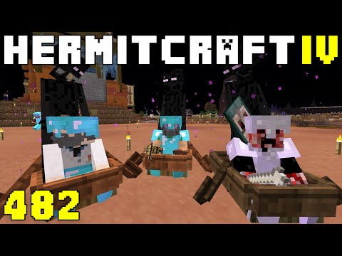 Hermitcraft IV 482 White District Opens