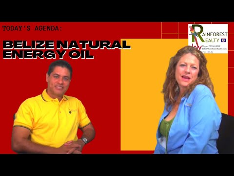 Belize Natural Energy Oil with Macarena Rose on Belize Talk