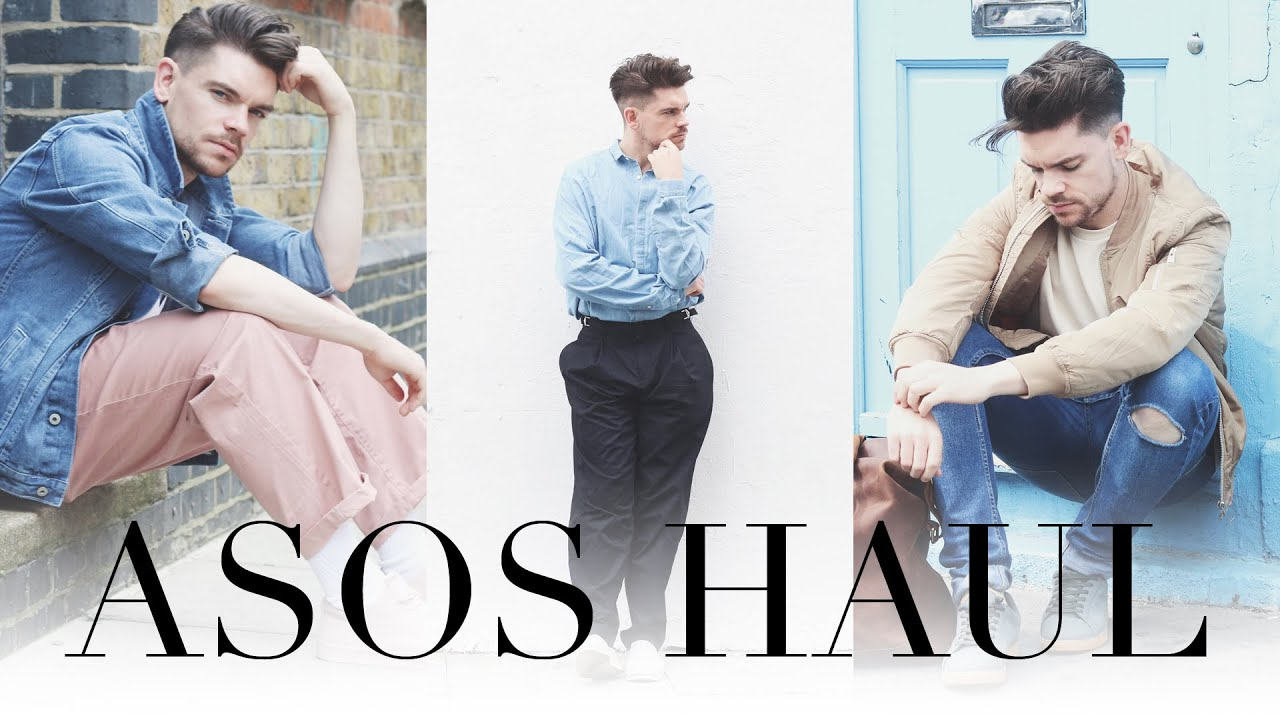 64b7753adb ASOS Menswear Haul and Try On - YouTube
