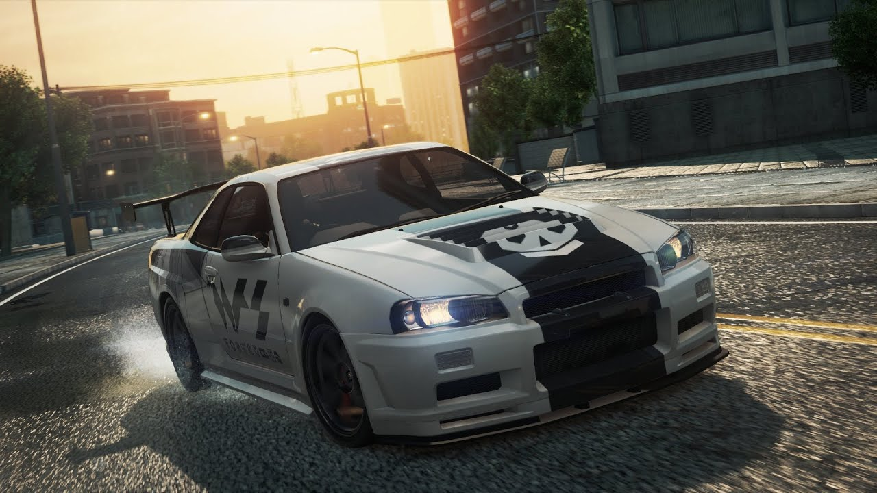 NFS Most Wanted   Nissan Skyline GTR   Gameplay ITA   YouTube