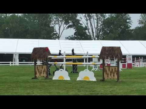 Action- Ox Ridge Grand Prix Jump Off