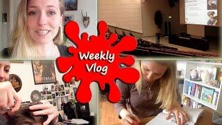 Mein Studenten-Alltag :)   Vorlesungen   Study Day   Fahrradnotfall   weeklyvlog #1