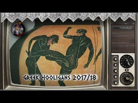 Greek hooligans 2017/18  // Pyro-Greece