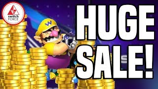 Mario Odyssey for CHEAP! Surprise Nintendo Switch eShop Sale!