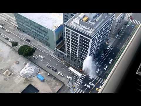 Hydrant accident San Francisco