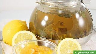 Целебный Имбирный Чай. Рецепт. Healing ginger tea. Recipe.