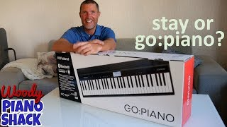 Roland GO PIANO leisurely unboxing