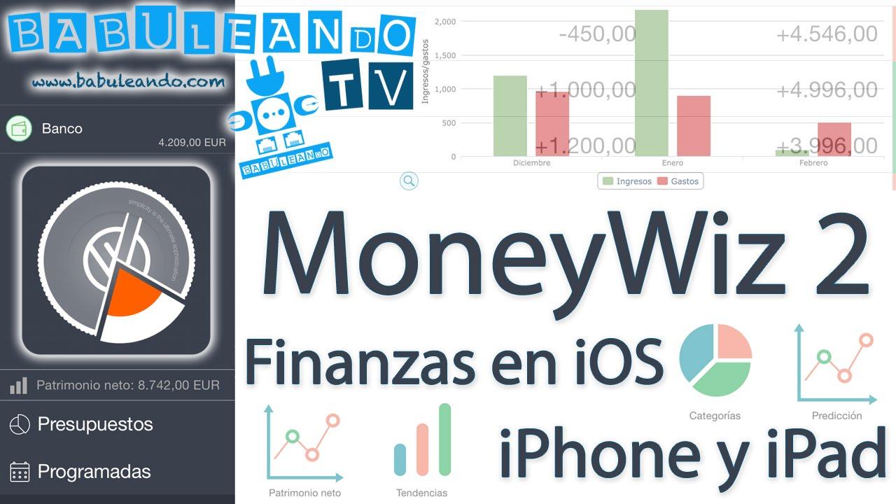 MoneyWiz 2 - Finanzas personales en iOS - iPhone y iPad