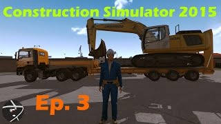Construction Simulator 2015 Ep. 3 New Shop & New Equipment