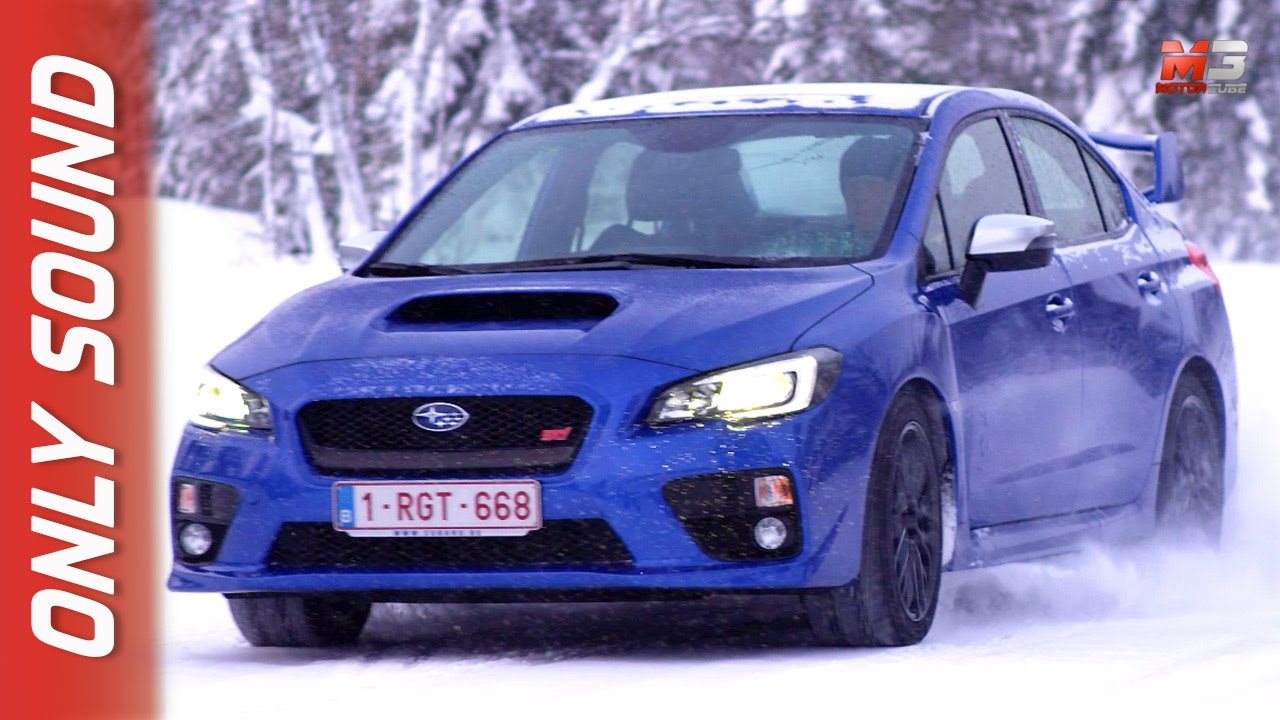 New Subaru Wrx Sti 2017 Finland Snow Test Drive Only Sound