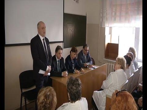 В Курской областной больнице новый главврач