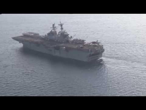 USS Iwo Jima underway in the Gulf of Aden