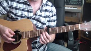 Noah And The Whale - 5 Years Time - Guitar Tutorial Mp3