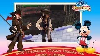 DLC Diciembre: Mundo Piratas del Caribe + Extras - Disney Magical World