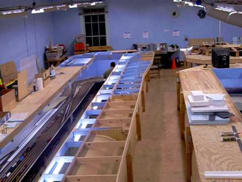 Our Huge HO Model Train Layout!!!!