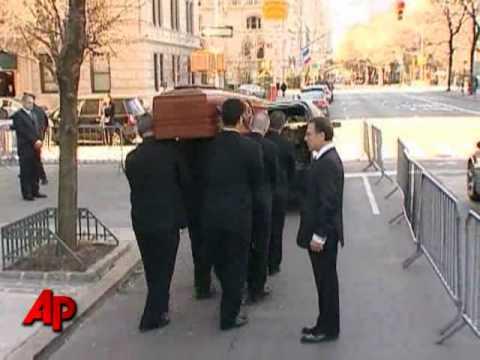 Raw Video: Natasha Richardson Casket Leaves