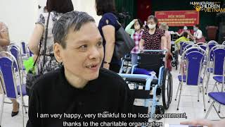 Over 40,000 wheelchairs donated to those in need