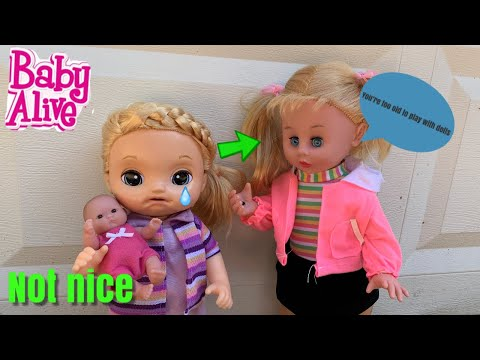 Baby Alive Lulu plays with baby dolls baby alive videos