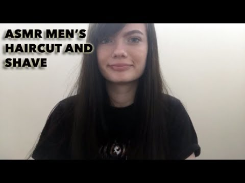 Asmr Mens Haircut And Shave Roleplay For Relaxtion Youtube