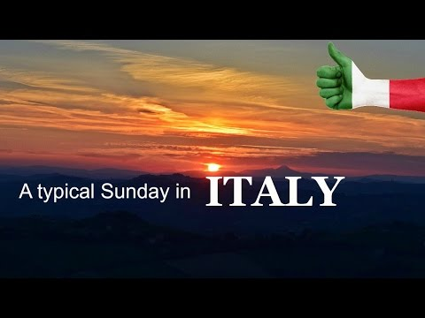 A typical Sunday in Italy   Daily Travel Vlog 99, Le Marche, HD