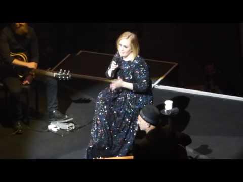 4/7 Adele - Watching the Debate + Missing Being a Teenager @ Verizon Center, Washington, DC 10/10/16